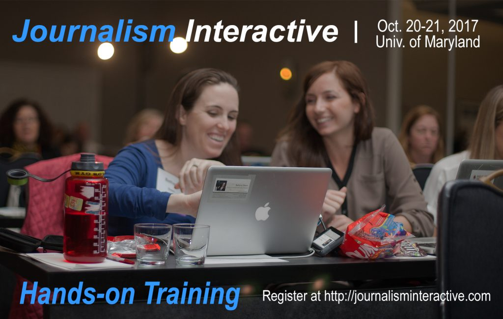 Journalism Interactive training
